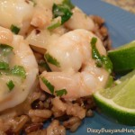 Buttery Shrimp with Lime