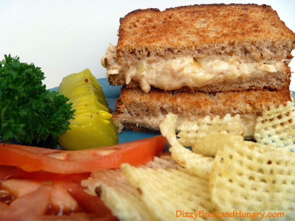 Grilled Cheese and Salmon Sandwiches - A quick, easy, crispy sandwich ...