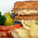 A quick and easy, crispy sandwich that is both sweet and savory at the same time. Mak