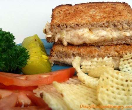 Grilled Cheese and Salmon Sandwiches