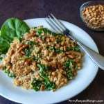 Sausage Couscous with Spinach and Pine Nuts-1060953-3a small