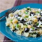 Quinoa with Artichokes and Chickpeas