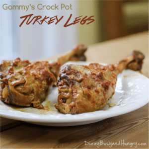 gammy's crock pot turkey legs