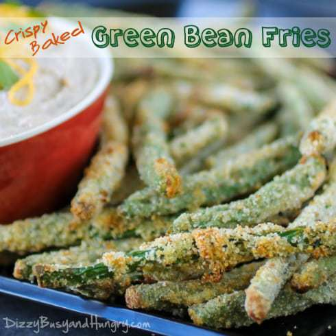 Crispy Baked Green Bean Fries - Crunchy, addictive, AND healthy? It's ...