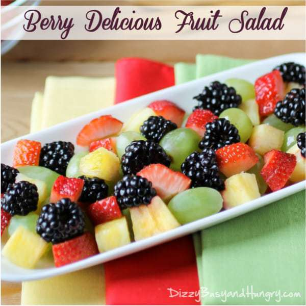 Berry Fruit Salad Pictures to pin on Pinterest