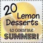 20 Lemon Desserts to Celebrate Summer