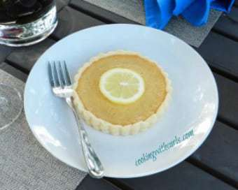 340 cook w curls honey lemon tart