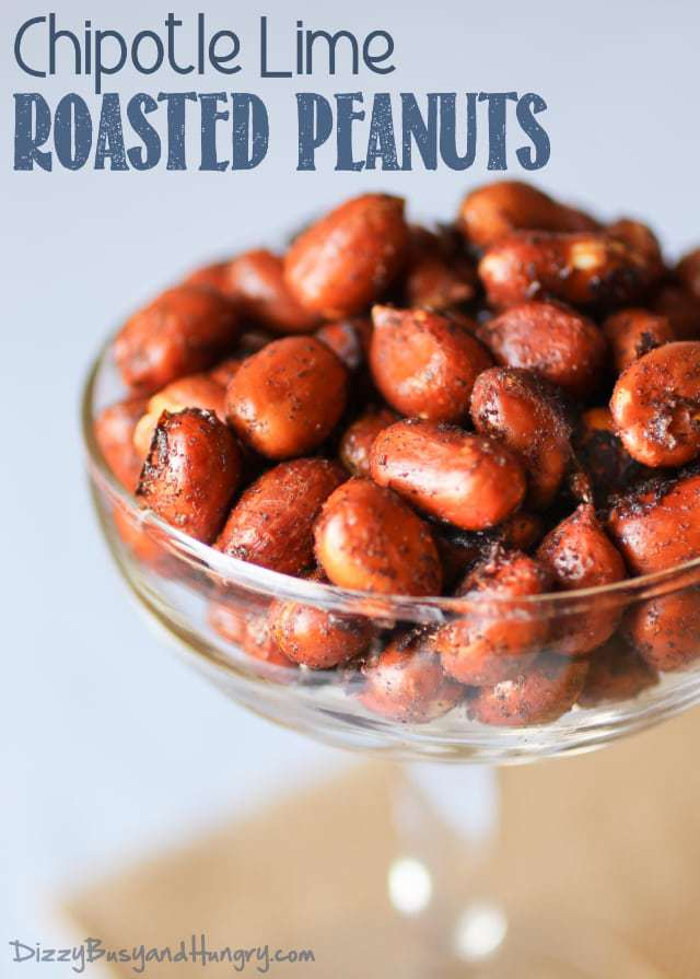 Chipotle Lime Roasted Peanuts
