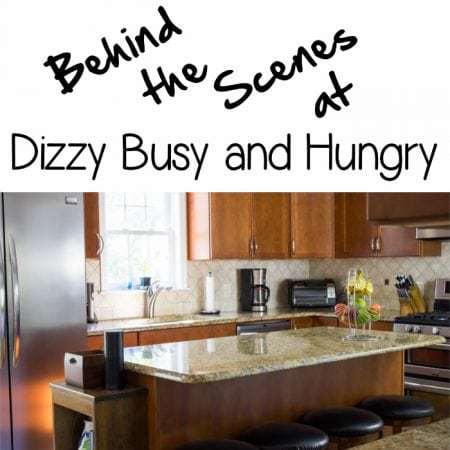 Behind the Scenes at Dizzy Busy and Hungry - I invite you to come check out my kitchen, where all the Dizzy Busy fun happens!