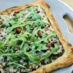 Caramelized Onion Bacon Pizza