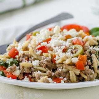 Beef and Orzo Skillet Meal