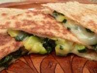 Veggie Cheese Quesadillas