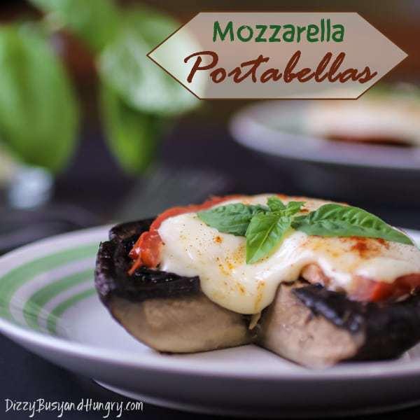 Mozzarella Portabellas