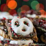 Vanilla Wafer Holiday Bark for #ChristmasWeek and a Giveaway!