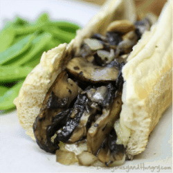 Meatless Philly Cheesesteak