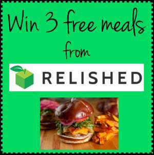 Stop Planning, Start Cooking! Relished Review and Giveaway