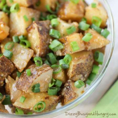 Chipotle and Garlic Grilled Potatoes
