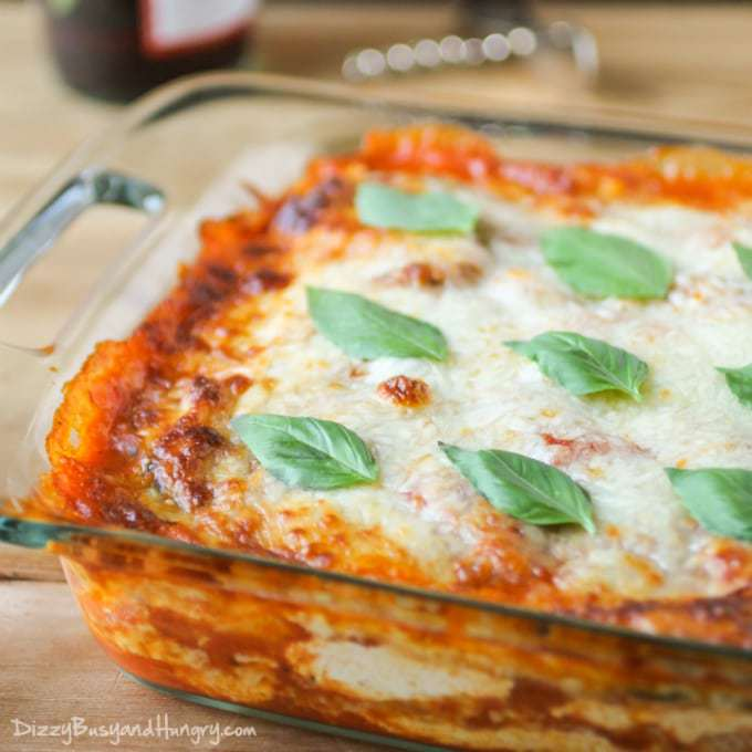 Eggplant Polenta Lasagna | Dizzy Busy and Hungry!