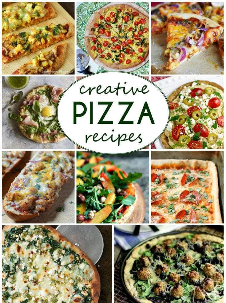 35 Creative Pizza Recipes