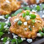 Buffalo Blue Cheese Potato Bites #SundaySupper #GameDayIdahoPotatoes