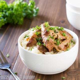 Crock Pot Chicken Thighs in Honey Beer Sauce